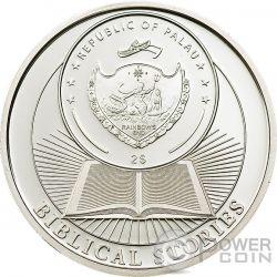 ADAM AND EVE Biblical Stories Серебро Монета 2$ Палау 2011