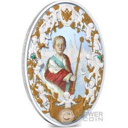 IVAN VI Antonovich Russian Emperors 2 Oz Moneta Argento 5$ Niue 2014