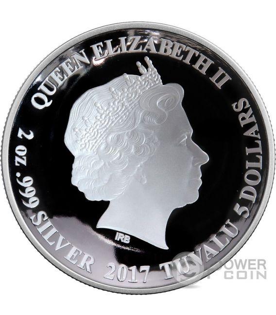 DOCTOR STRANGE Seal of the Vishanti Marvel 2 Oz Silver Coin 5$ Tuvalu 2017