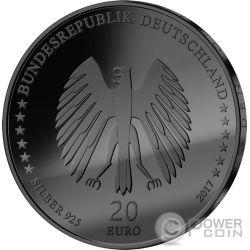 TOWN MUSICIANS OF BREMEN Musiker Golden Enigma Silber Münze 20€ Euro Germany 2017
