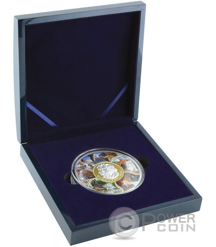 Grimms Fairy Tales Once Upon A Time 1 Kg Silver Coin 100