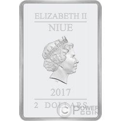 STAR WARS 40 Anniversary 1 Oz Silver Coin 2$ Niue 2017