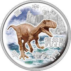 FUKUI 47 Prefectures (10) Silver Proof Coin 1000 Yen Japan 2010