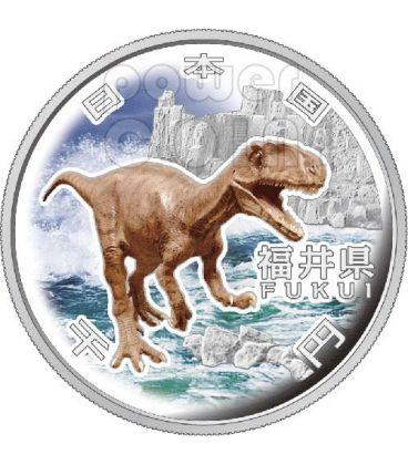 FUKUI 47 Prefectures (10) Silver Proof Coin 1000 Yen Japan Mint 2010