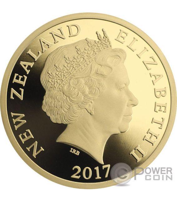 MYTHICAL TANIWHA Maori Tekau Tara Set 2x1 Oz Silber Münze 1$ Gold 10$ New Zealand 2017