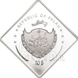 RICHELIEU Battleship 2 Oz Серебро Монета 10$ Палау 2010