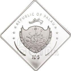 RICHELIEU Nave Corazzata Moneta Argento 2 Oz 10$ Palau 2010