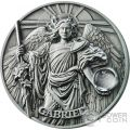 GABRIEL Gabriele Choir of Angels 2 Oz Moneta Argento 5$ Niue 2017