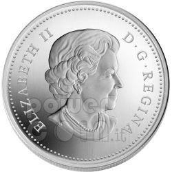 RAINDROP Crystal Swarovski Серебро Монета 20$ Канада 2010
