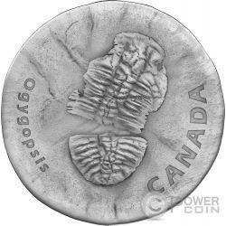 OGYGOPSIS Ancient 1 Oz Silber Münze 20$ Canada 2017