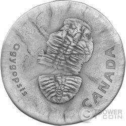 OGYGOPSIS Ancient 1 Oz Silver Coin 20$ Canada 2017