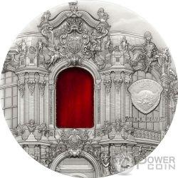 TIFFANY ART BAROQUE DRESDEN 2 Oz Серебро Монета 10$ Палау 2014