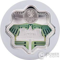 MASONE Labyrinths Of The World 2 Oz Moneda Plata 5000 Dram Armenia 2017