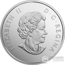 SEA STAR Under The Sea 1 Oz Silver Coin 20$ Canada 2017