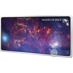 SHADES OF SPACE Milchstraße 1 Oz Silber Münze 5$ Samoa 2017