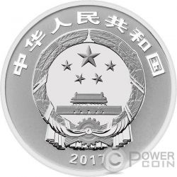 NEW YEAR CELEBRATION Silver Coin 3 Yuan China 2017