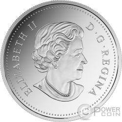 LEAPING COUGAR Three Dimensional 3D 1 Oz Silver Coin 20$ Canada 2017