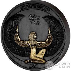 ANCIENT EGYPT Antiguo Egipto Corinthium Aes Moneda Oro Negro 1/2$ Samoa 2017