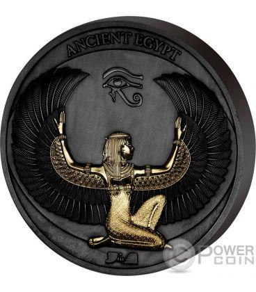 ANCIENT EGYPT Corinthium Aes Black Gold Coin 1/2$ Samoa 2017