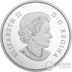 PEACE TOWER CLOCK 90th Anniversary 5 Oz Silver Coin 50$ Canada 2017