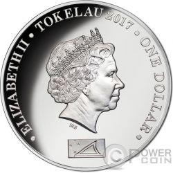 DIANA PRINCESS OF WALES Prinzessin Silber Münze 1$ Tokelau 2017