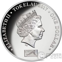 DIANA PRINCESS OF WALES Silver Coin 1$ Tokelau 2017