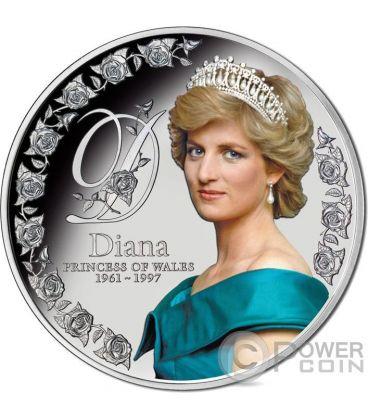 DIANA PRINCESS OF WALES 5 Oz Silver Coin 10$ Tokelau 2017