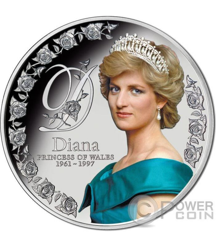 Diana Princess Of Wales 5 Oz Silver Coin 10 Tokelau 2017
