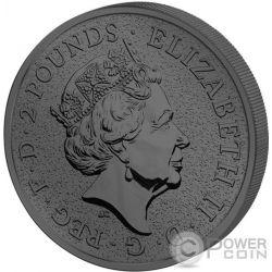 BIG BEN Golden Enigma 1 Oz Серебро Монета 2£ Великобритания 2017