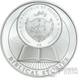 DANIEL IN THE LIONS DEN Biblical Stories Серебро Монета 2$ Палау 2017