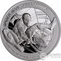 SPIDERMAN Homecoming Marvel 1 Oz Silver Coin 5$ Cook Islands 2017