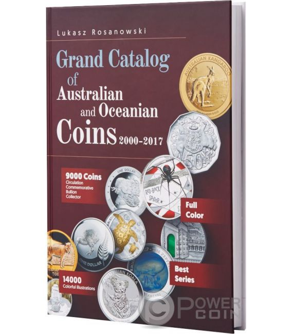 GRAND CATALOG Australian and Oceanian Монеты Rosanowski 2000-2017
