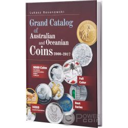 GRAND CATALOG Katalog Australian and Oceanian Münzen Rosanowski 2000-2017
