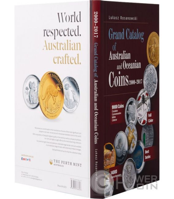 GRAND CATALOG Catalogo Monedas Australia Oceania Rosanowski 2000-2017