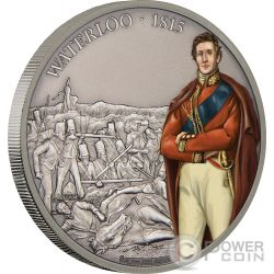 BATTLE OF WATERLOO Battles That Changed History 1 Oz Silver Coin 2$ Niue 2017