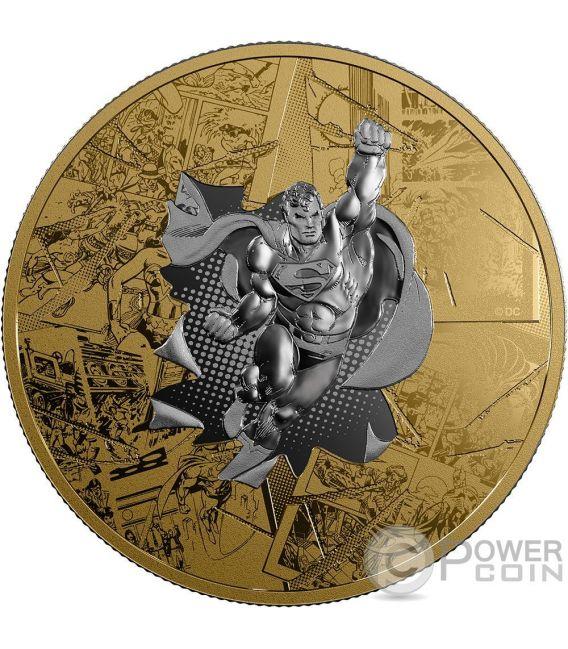 Superman Brave And The Bold Dc Comics Originals 3 Oz