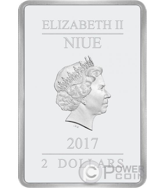STAR WARS Empire Strikes Back 1 Oz Silver Coin 2$ Niue 2017