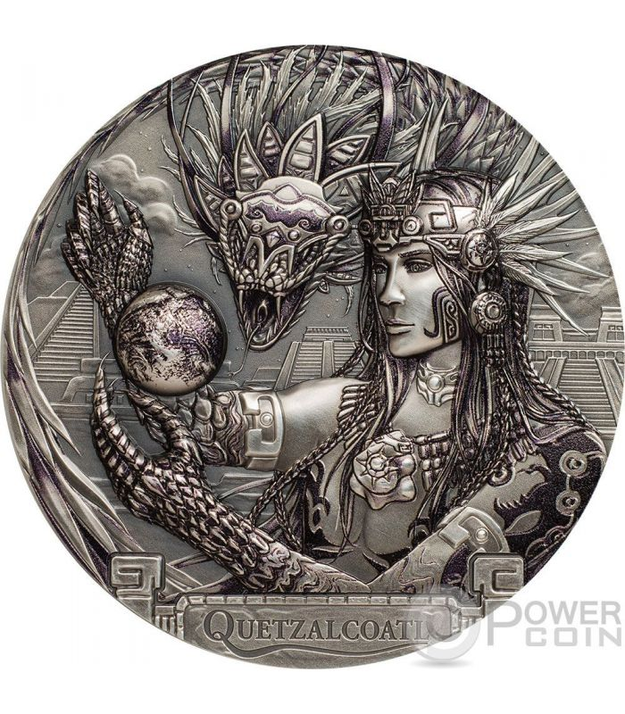 Quetzalcoatl Azteco Serpente Piumato Gods Of The World 3