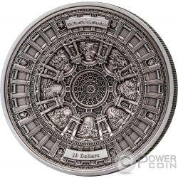 ST PAULS CATHEDRAL 4 Layer Серебро Монета 10$ Самоа 2017