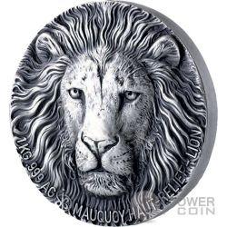 LION Leone Big Five 1 Kg Kilo Moneta Argento 10000 Franchi Ivory Coast 2017