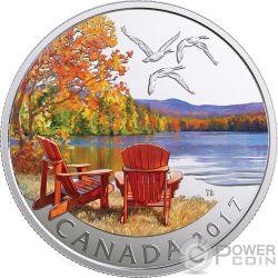 AUTUMNS PALETTE Silver Coin 10$ Canada 2017