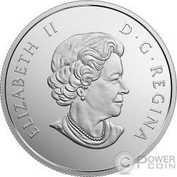 SEA TURTLE Under The Sea 1 Oz Серебро Монета 20$ Канада 2017