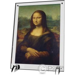 MONA LISA Leonardo da Vinci Gioconda Giants of Art 1 Kg Kilo Moneta Argento 100$ Niue 2017