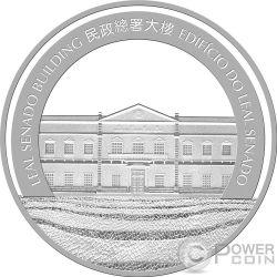 DOG Lunar Year 5 Oz Silver Coin 100 Patacas Macao Macau 2018