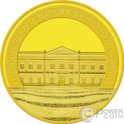 DOG Perro Lunar Year Moneda Oro 250 Patacas Macao Macau 2018