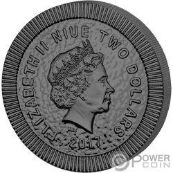 OWL OF ATHENS Eule Athena Golden Enigma 1 Oz Silber Münze 2$ Niue 2017