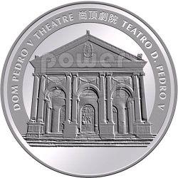 RABBIT Lunar Year 1 Oz Plata Proof Moneda 20 Patacas Macau 2011