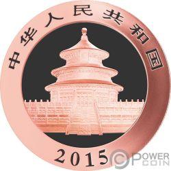 NANTAN Chinese Panda Atlas of Meteorites Серебро Монета 10 Юаней Китай 2015