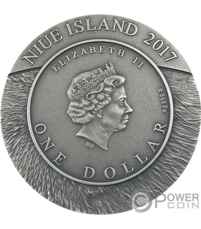 Niue 2 dollars Poets of the Golden Age Pushkin silver golded coin 2012