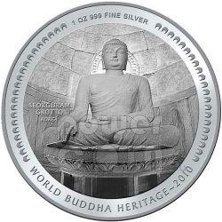 SEOKGURAM GROTTO BUDDHA Heritage Korea Münze Bhutan 2010